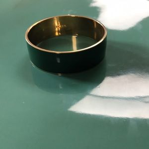 Jcrew Dark Green Bangle Bracelet!